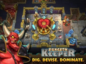 Dungeon Keeper Mobile screenshot