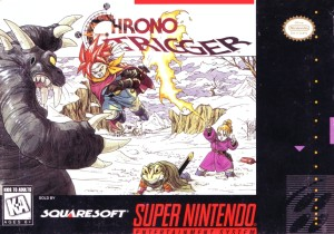 Chrono Trigger SNES Box